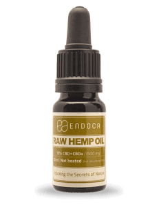 Endoca 1500mg RAW Hemp Oil Drops