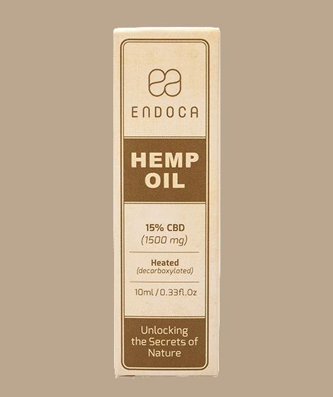 Endoca 1500mg drops box