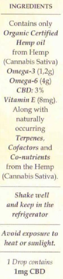 hemp oil 3%