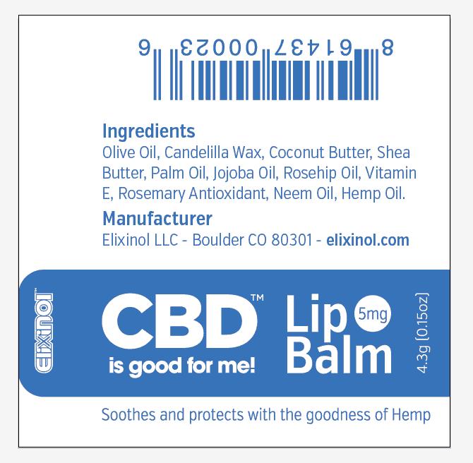 Elixinol Lip Balm 2