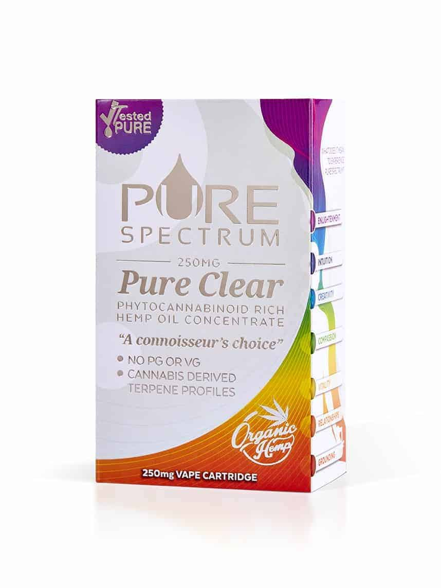 PureSpectrum Pure Clear Vape 250mg