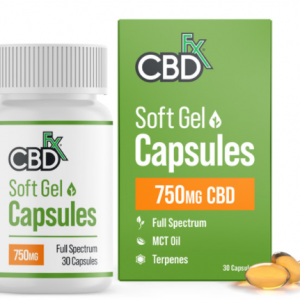 CBDfx CBD Gel Capsules  Image