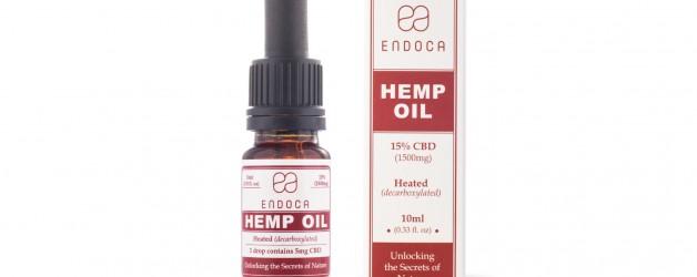 Endoca Hemp Oil Drops (1500mg) (15%)