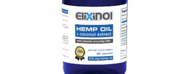 Elixinol CBD Hemp Oil Capsules (900mg)