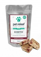 Pet Releaf Dog Treats – Blueberry & Cranberry – Large Breed