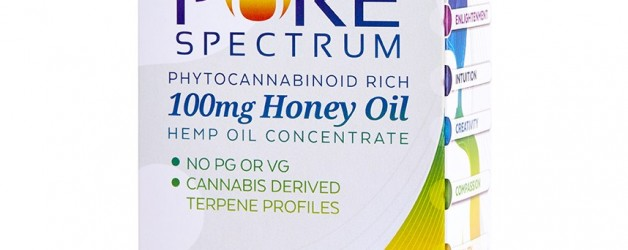 Pure Spectrum Natural Oil Vape Cartridge Refill (100mg)