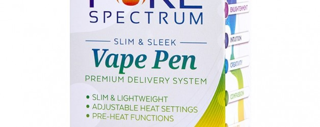 Pure Spectrum Natural Honey Oil + Vape Pen & Charger Kit (100mg)