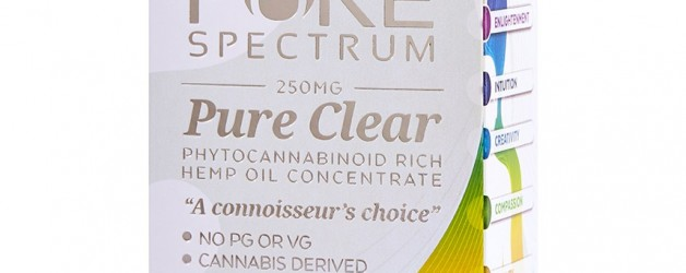 Pure Spectrum Tangerine Pure Clear Vape Cartridge Refill (250mg)